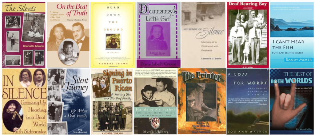 BookCovers-Autobiographies